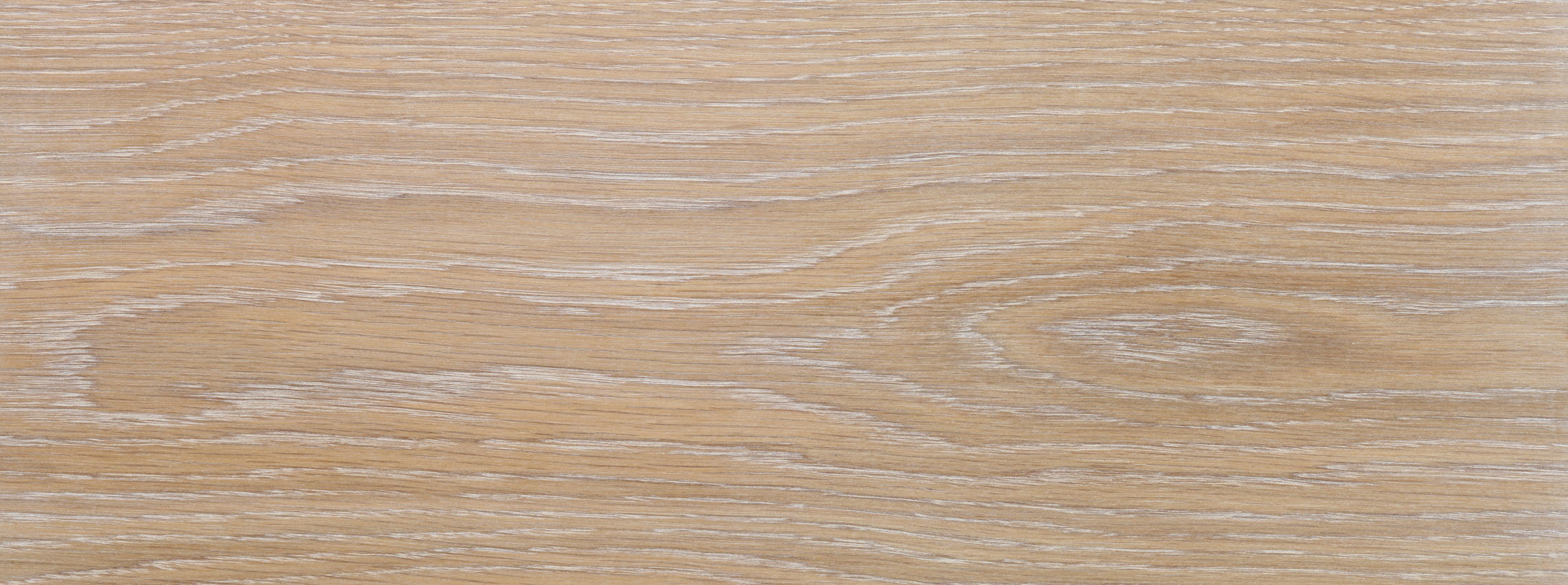 Oak 20mm engineered board, Brushed & White Limed, 1sqm pack